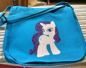 My Little Pony Canvas Messenger Bag  or Pillow