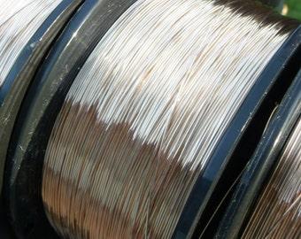24 gauge Solid Bronze Wire - 25 Feet