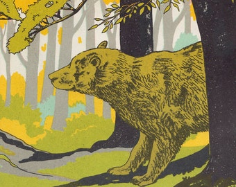 Ask Mr. Bear - a vintage picture book by Marjorie Flack