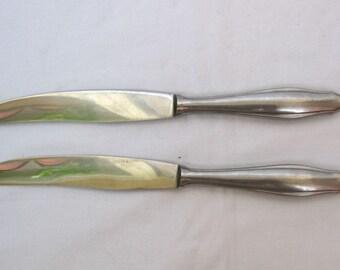 Vintage knives Robert Klaas Solingen Rosterei German stainless steel cutlery