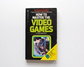 How To Master Video Games - Tom Hirschfeld - Vintage Paperback 1981