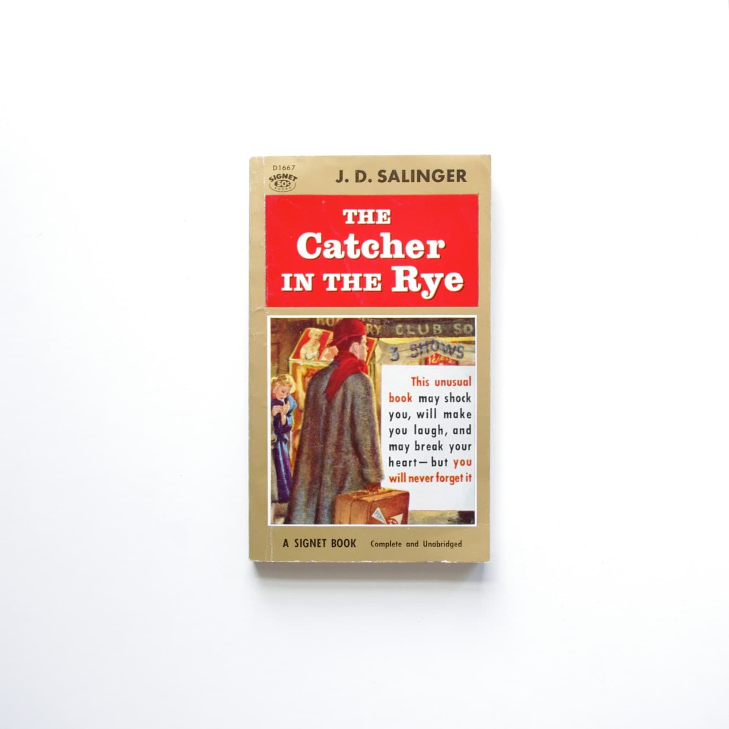 a review jd salingers catcher in the rye Most writers fitting such a description are long forgotten, but if the novel is the  catcher in the rye and the writer is j d salinger well, he's.