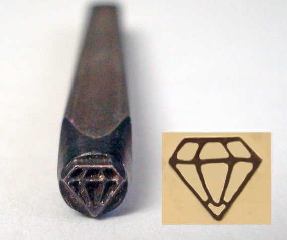 Diamond Shaped Stamp On Jewelry