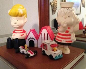 Vintage Charlie Brown Peanuts Friends