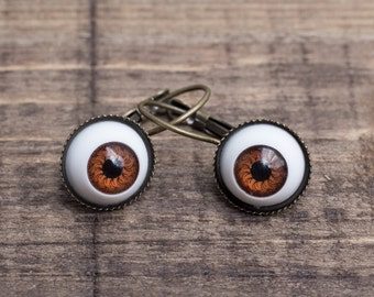 Eyes Earrings, Gift for Her, Halloween gift