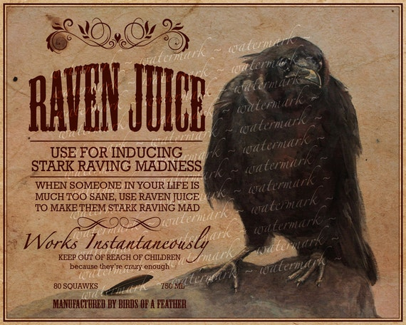 potion halloween labels label raven juice witch bottle unicorn blood slime round bottles decorating avery tears
