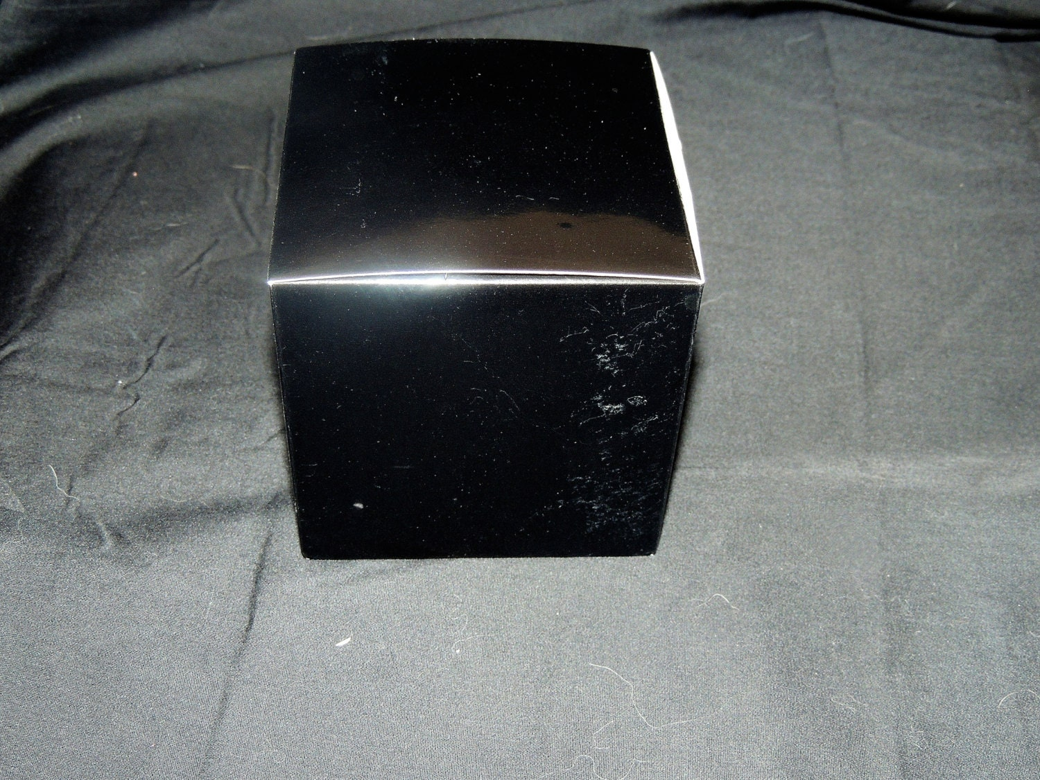 10 pack 4x4x4 black fold and tuck gift boxes small boxes for Black box container studios