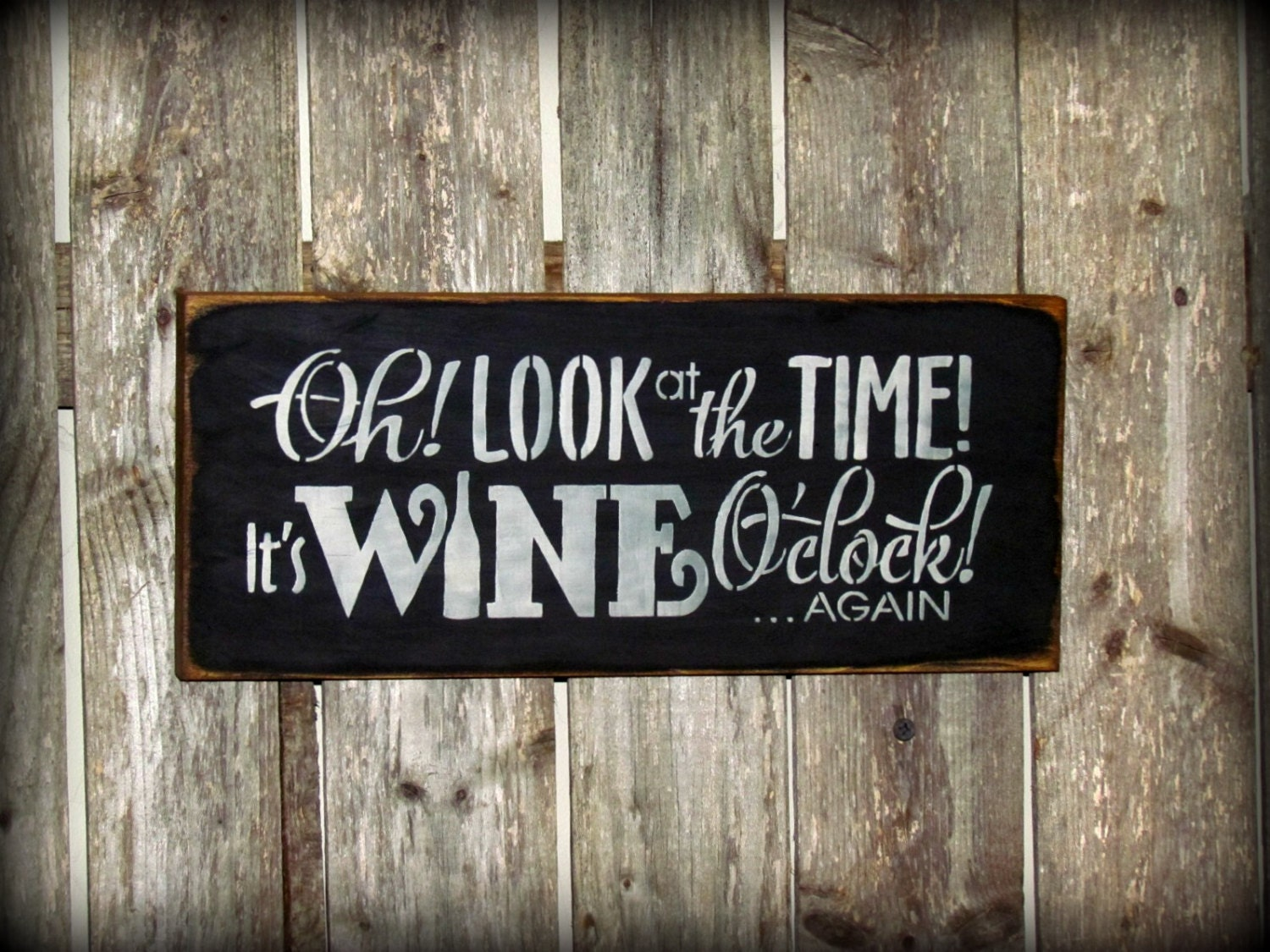 Funny Wine Sign Wine Decor Gift For The