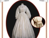 Peachtree Merchantile 206, Dress c.1860, size 08 to 18