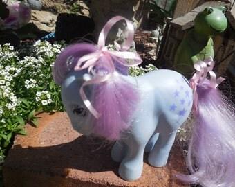 My Little Pony 1982 BLUE BELLE 1st Generation ,Vintage My Little Pony,Pony, Toy Pony,Vintage Toys,Toys :)S