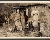 Primitive Hawaiian Home -  1920s RPPC by Nielen