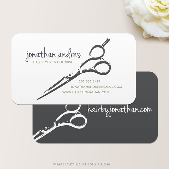 Shears Business Card Calling Card Mommy Card Contact