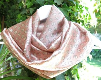 Slik  Scarf , Pink Rose Slik. Infinity Scarf,  Circle Loop  scarves ,Scarf  Wrap, Great for any occasion