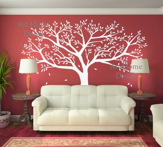 Etsy Family Wall Decor : Items similar to tree wall decor family decal