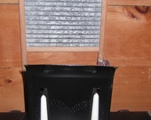 Vintage colonial double candle holder wall or table nice