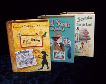 Girl Scout Book Tins