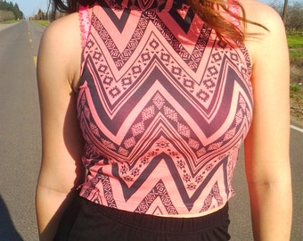 Aztec-crop-top