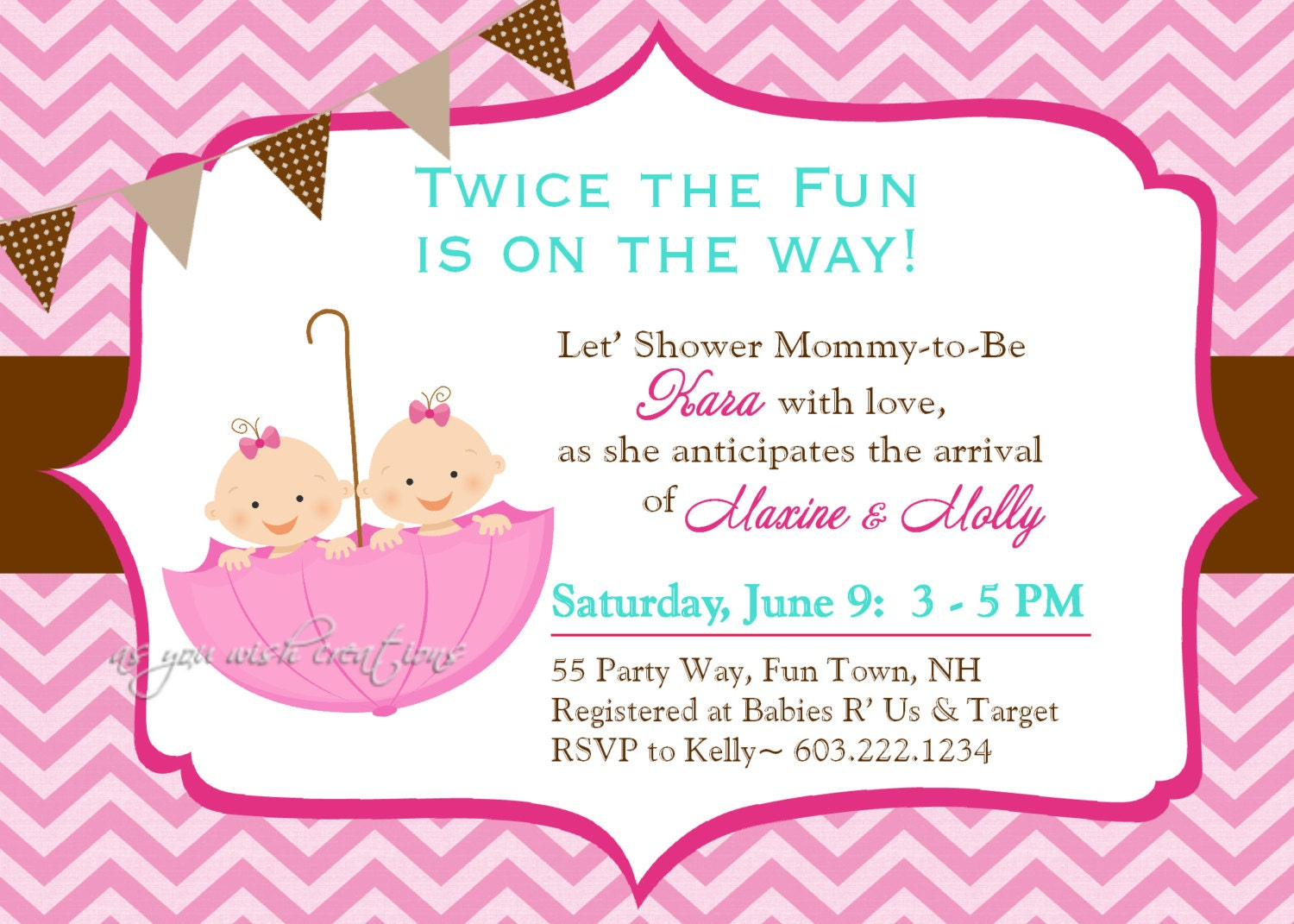 Girl Elephant Baby Shower Invitations for beautiful invitations design