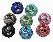 10pc mix color Iron Mesh Beads-9013