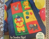 American School of Needlework Kids Quilts by Sandra Sigal booklet 4108 Easy Machine Applique Craft Instructions Book