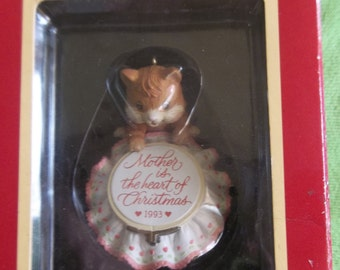 1993 Mother Christmas Ornament