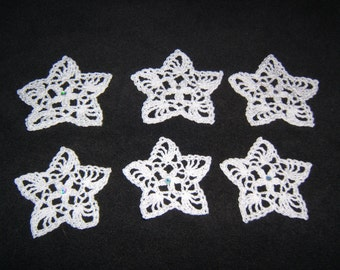 Glittering Star Ornaments