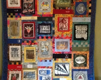 Memory quilt   Reserved for Elizabeth. DATE NIGHT