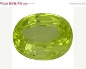 Chrysoberyl Yellow Facet Loose Gemstones 8.8 x 7.0 MM Oval Shape 2.419 Carat