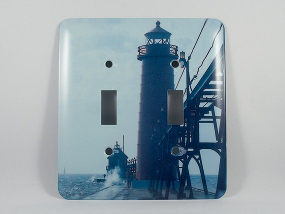 Sale 50 off light switch cover grand haven michigan for Lighthouse switch plates