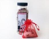 APHRODITE - Rose & Jasmine Botanical Bath Salt soak, 8 oz.