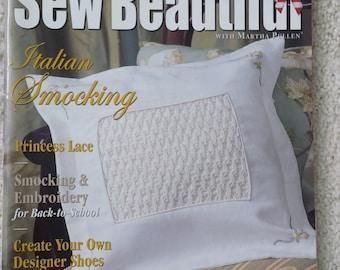 Sew Beautiful -Issue 95, 2004 -  A Martha Pullen Publication