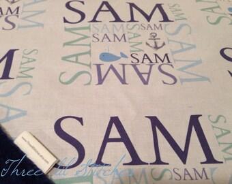 Personalized Minky Name Blanket-  baby gift, baby shower, birthday, new baby, stroller blanket, tummy time, travel, minky