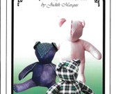 Buckleberry Bear Sewing Pattern by Judith Marquis