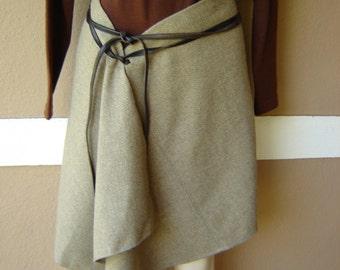 Donna Karen Vintage Boho Wrap Skirt