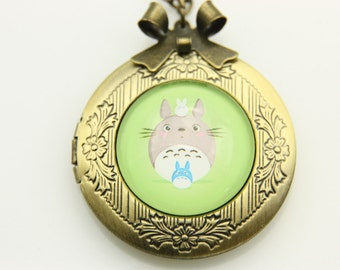 Necklace locket totoro 2020m