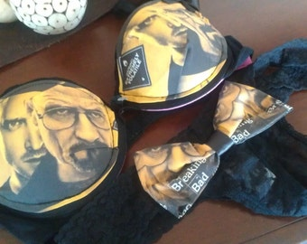 breaking bad inspired bra set