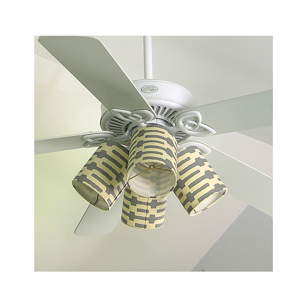 Ceiling Fan Shades Clips To Bulb Annie Selke S Links In
