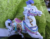1990 Boxed Collectible Lenox Carousel Charger IOB COA Mint  Lenox Carousel Collectible