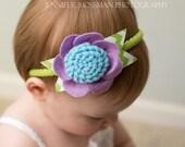 Gerbera beauty. Baby/toddler, girl headband