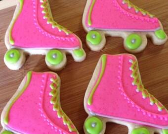 Roller skate cookies