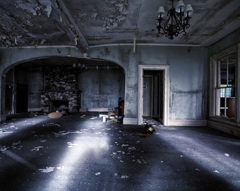 Abandoned house interior