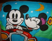 1970's Mickey Mouse Walt Disney Production New With Tag Scarf Italy