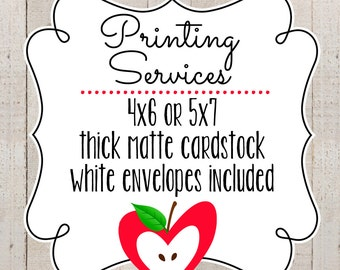 Printing Service // The Lovely Apple