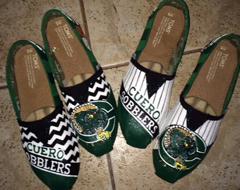 School Spirit Shoes ~ hand painted TOMS