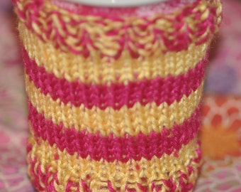 coffee cozy pattern