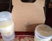 Foot Care Gift Set Includes Foot Fizzy and Foot Balm Made To Order