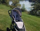 custom stroller liner with strap pads pram liner and shoulder strap pads