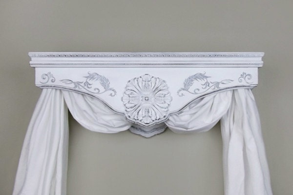 Bed Crown Canopy Crib Crown Teester Cornice Cherry
