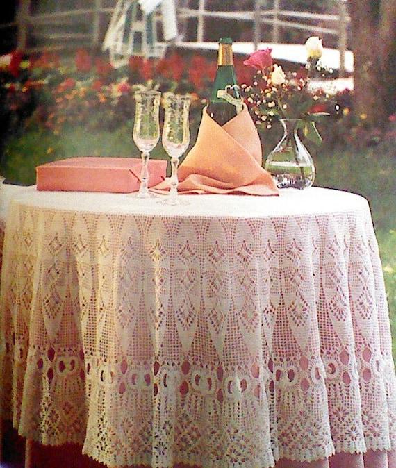 vintage wedding NEW VINTAGE WEDDING RING MOTIF CROCHET