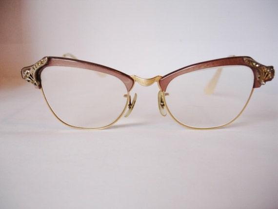Vintage B & L Women's Cat Eye Eyeglasses - See our huge collection of vintage eyewear
